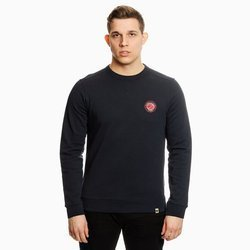 Pretty Green Mens Likeminded Chest Badge Sweat