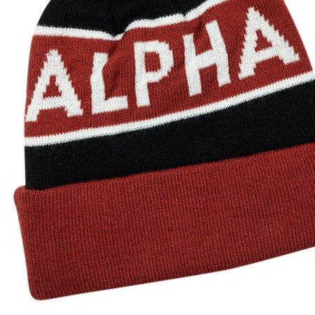 Alpha Industries Block Bobble Beanie