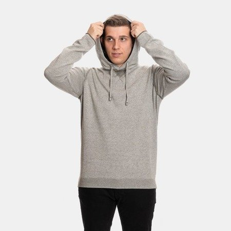CP COMPANY HOODED DOUBLE FACE VANISE GREY