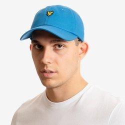 CZAPKA LYLE&SCOTT BASEBALL CAP BLUE