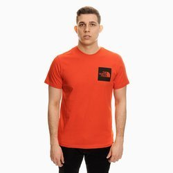 THE NORTH FACE FINE T-SHIRT RED