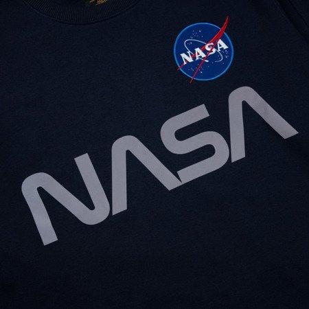Alpha Industries Nasa Refletive Sweater Rep.Blue