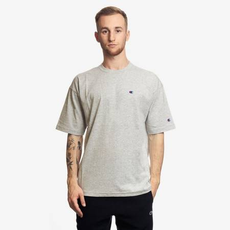 CHAMPION REVERSE WEAVE T-SHIRT GREY