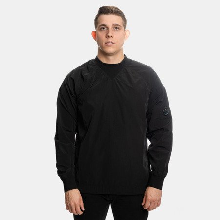 CP COMPANY CREWNECK CHROME BLACK