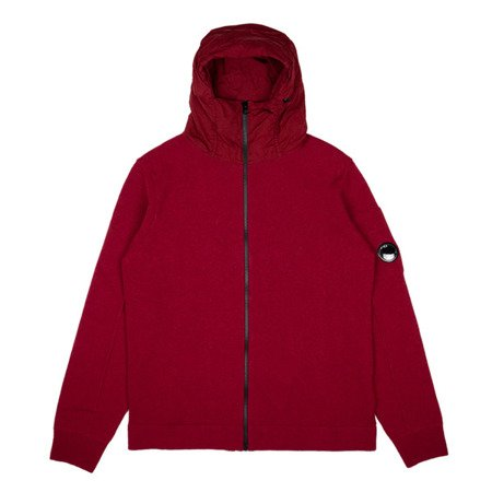 CP Company Lambswool Mixed Chrome Hood Zip Sweat