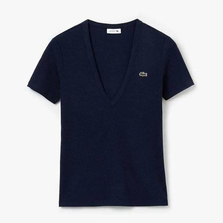 Koszulka Lacoste Soft Cotton V-Neck T-shirt