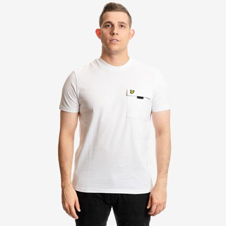 LYLE&SCOTT CHEST POCKET T-SHIRT WHITE