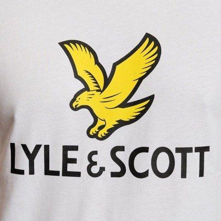 LYLE&SCOTT LOGO T-SHIRT WHITE