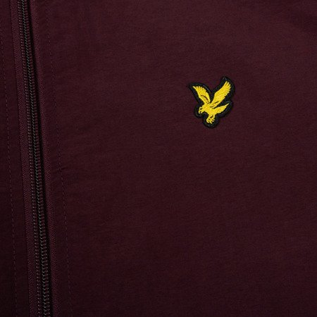 LYLE&SCOTT  MICROFLEECE LINED THROUGH JACKET BURGUNDY