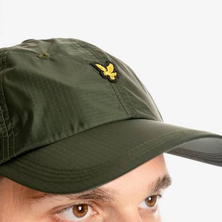 LYLE & SCOTT RIPSTOP CAP GREEN