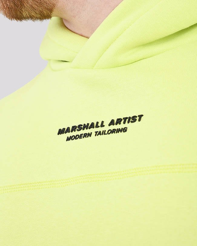 MARSHALL ARTIST SIREN OTH HOOD 420 FADED LIME
