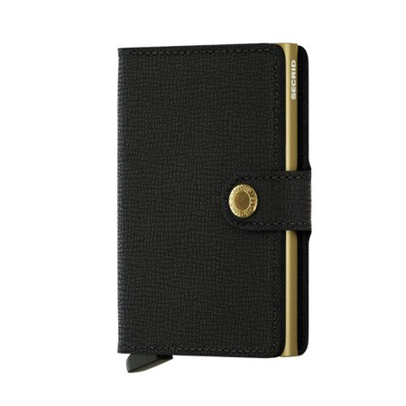 SECRID miniwallet Crisple Black- Gold