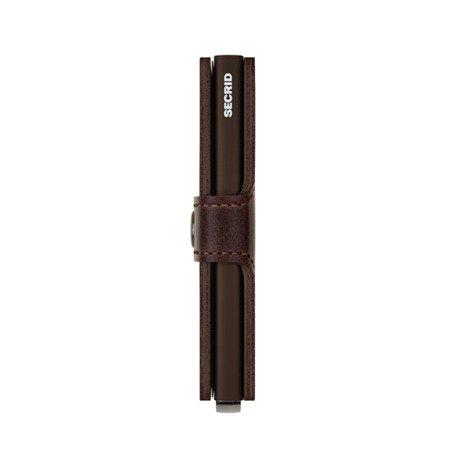 SECRID miniwallet vintage chocolate