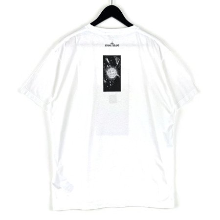 STONE ISLAND 'GRAPHIC THREE' T-SHIRT WHITE