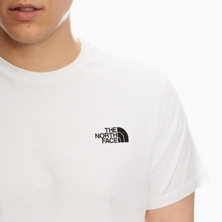 THE NORTH FACE SIMPLE DOME T-SHIRT WHITE